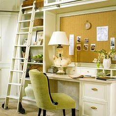 Bulletin Board Wall ladder, office spaces, pin boards, cork boards, bulletin boards, librari, desk areas, home offices, craft rooms