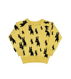 Lojadada : Produto : Sweater rabbits vintage yellow by Beau Loves
