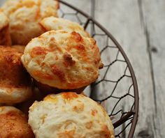 Mini Cheesy Biscuits | The Cutting Edge of Ordinary