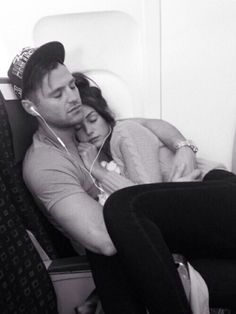 My bf Cuddling with me on an airplane would be my dream cuz I hate flying!