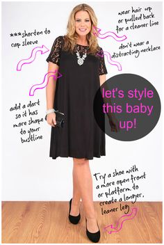 I'm trying something new by adding my styling tips to a photo provided by you, the reader. If you like this new dress redo feature, please t...