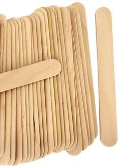 Jumbo Craft Sticks -Natural