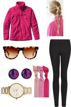 preppy outfit.