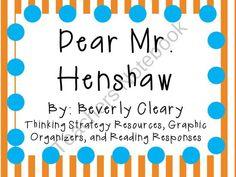 Dear Mr. Henshaw product from KidsForever on TeachersNotebook.com
