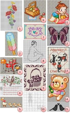 more free cross stitch patterns!!
