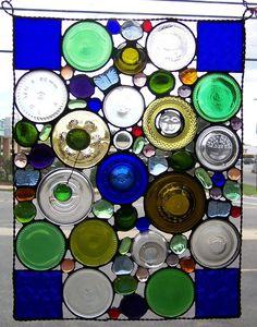glass bottle bottoms