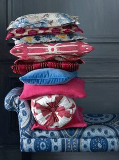 Wonderful pigments and rich textures in Manuel Canovas' new fabric range. www.manuelcanovas.com