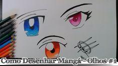 Como desenhar Mangá - Olhos #1