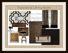 InBox Decorations |Transitional Dining Room  design idea as seen on www.interiordesignpro.org