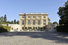 The magnificent Petit Trianon, Versailles built between 1762 and 1768 by Ange-Jacques Gabriel for Louis XV. Image by EPV|Christian Milet.