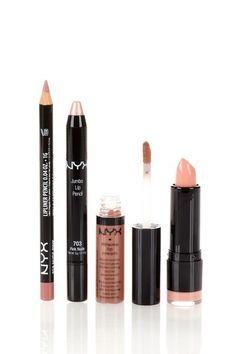 Nude lips set