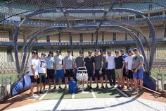Dodgers Blue Heaven: Lord Stanley and the Kings Visited Dodger Stadium Yesterday