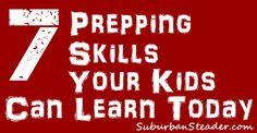 Teaching your kids p