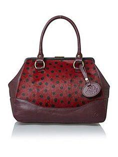 Dickins & Jones Poppy frame bag http://ow.ly/q0X7t