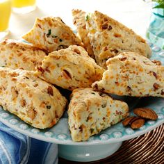 Bacon & Cheddar Scones #thinkfisher http://www.fishernuts.com/recipes ...