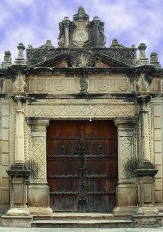 Old Door ~ Guatemala