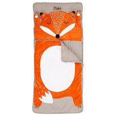 How Do You Zoo Sleeping Bag (Fox) and pillow
