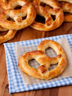 Make your own soft pretzels at home with this recipe.