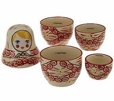 Temp-tations Stacking Doll Measuring Cups