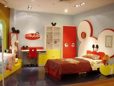 Mickey Mouse bedroom
