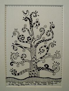 tree zentangle
