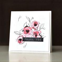 Floral card, by Tasnim