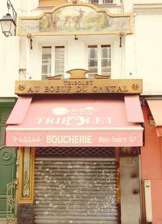 candy pastel colored Butcher shop