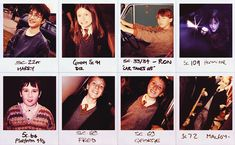 Harry Potter cast.  Look how cute they are!
