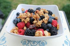 Fruit Granola Bowl