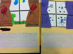 window, season, weather unit, weather activities, weather lessons, teacher, lesson plans, writing activities, construction paper
