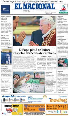 Publicado el 12 de mayo del 2006 por El Nacional