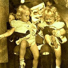 This is the last known picture of the DiMonaco Twins, famous children's entertainers of the 1950s. A woman claiming to be Kelly Sue DiMonaco appeared on the Jenny Jones show in 1998 but DNA evidence proved her to be an impostor. The kidnapper has never been found.