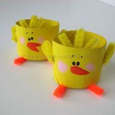 #chick #craft tp roll