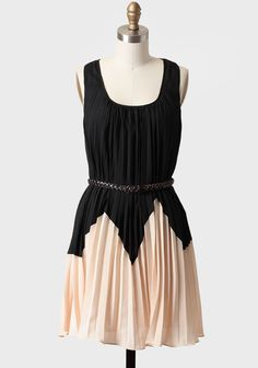 ShopRuche.com Desert Dusk Belted Dress