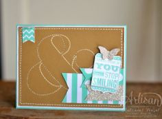 Fun card made with the Love you to the Moon stamp set.