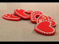 Cómo hacer Galletas coloreadas, ideales para San Valentín | Trucos para galletas por Azúcar con Amor