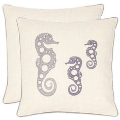 I pinned this from the Seaside Chic - Evoke the Oceanside with Beach-Inspired Pillows event at Joss and Main!   $55