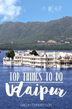 Udaipur, India - Top