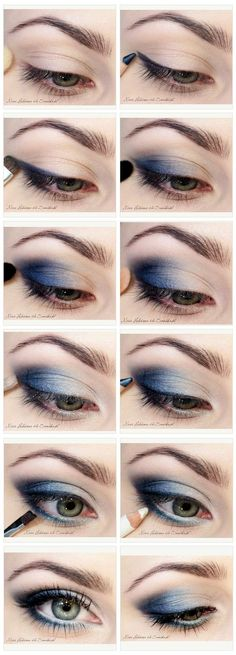 http://www.makeupmacosmetics.com/mac-makeup-eyeshadow-c-2.html Blues Eyeshadow tutorial [ Site's in Polish.]
