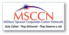 Military spouse career network