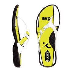 Volleyball Flip Flops / Volleyball Sandals / Volleyball Shoes from Jukz Shoes!