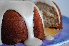 Apple Cider Bundt with Cream Cheese Frosting | The Moonlight Baker