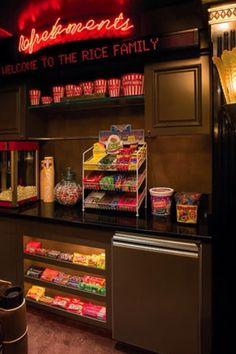 Home theatre concession stand