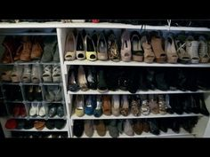 Shoes & skeletons in Allison Hagendorf's closet - Tiny, Eclectic Amazing Spaces @allihagendorf