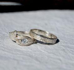 bell, weddings, bark band, engagements, trees, ring engag, bark ring, tree bark, branches
