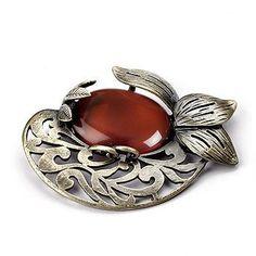 Pinkstix Antique Jeweled Brooch