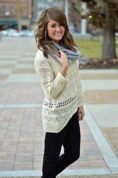 Perfect Cream Sweater