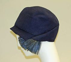 Cloche, Bonwit Teller & Co., ca. 1925-1930.