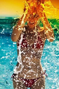 Swimming anyone? See how swimming helps burn more fat and lose weight easier! Repin