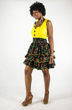 Design from Fafali Boutique an African unisex online store located in Boston, MA